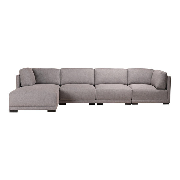Romeo Modular Sectional Left Grey