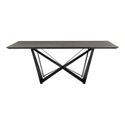 Brolio Dining Table Charcoal
