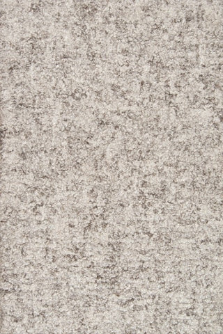Brown Wool and Viscose Area Rug