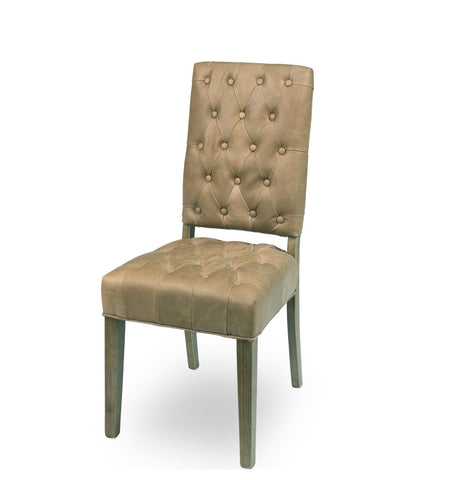 Brady Leather Side Chair