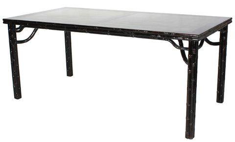 Classic Chinese Dining Table W/Marble