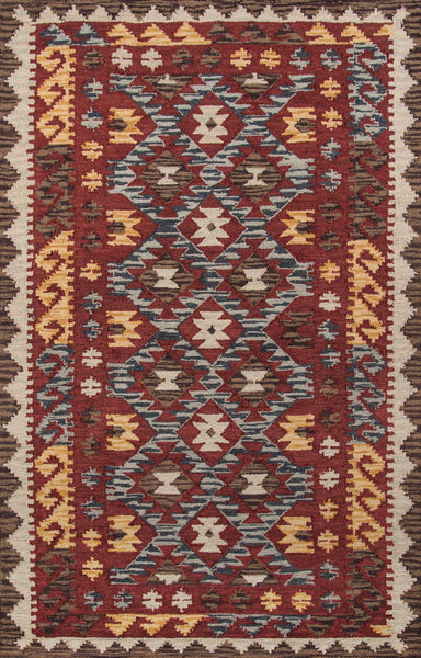 Tangier Hand Tufted Lamb's Wool Indian Area Rug