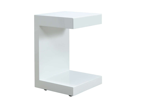Lino High Gloss Lacquer Nightstand