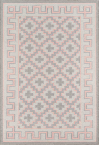 Hand Woven Brookline Pink Area Rug