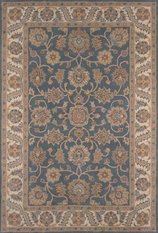 Tudor Hand Tufted Lamb's Wool Indian Area Rug