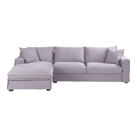 Chill Sectional Grey Left