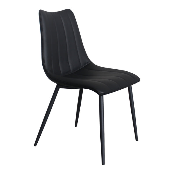Alibi Dining Chair Matte Black-Set Of Two