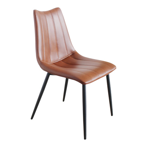 Alibi Dining Chair Brown-Set Of Two