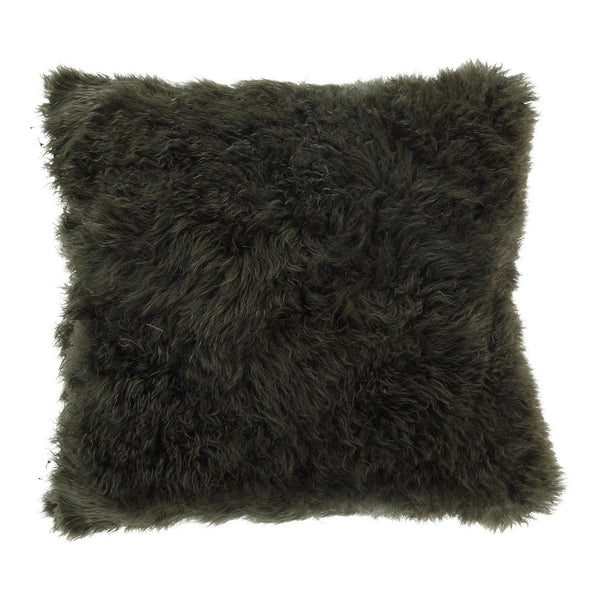 Cashmere Fur Pillow Forest