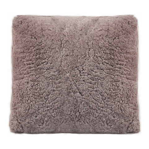 Hunter Wool Pillow Purple
