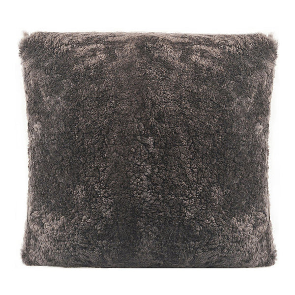 Hunter Wool Pillow Dark Brown