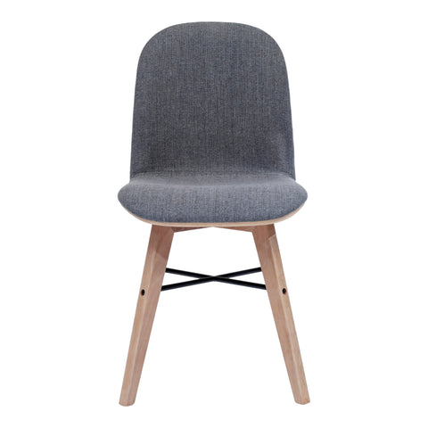 Napoli Dining Chair Grey - Set of Two