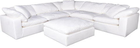 Clay Modular Sectional Livesmart Fabric Cream