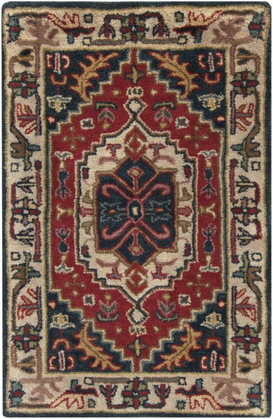 Hand Tufted Ancient Treasures Area Rug