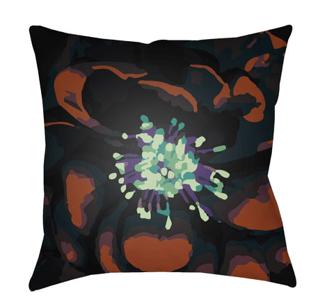 Abstract Floral Pillow Cover-Kit