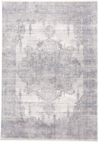 Tirza Gray Machine Made Area Rug