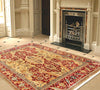 Hand-Knotted Agra Lamb's Wool Area Rug