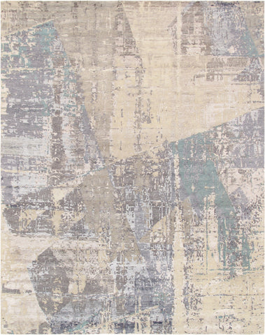 Modern Design Hand-Knotted Area Rug
