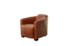 Paris Club Arm Chair Genuine Top Grain Leather