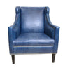 Bergdorf High Grade Quality Leather Arm Chair