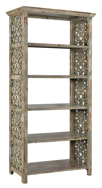 Carved Side Panel Etagere