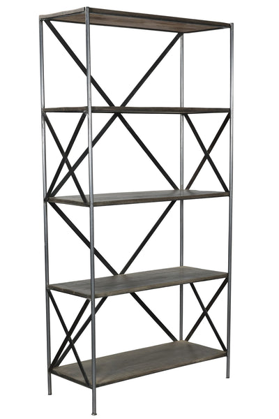 Scraped Iron Etagere