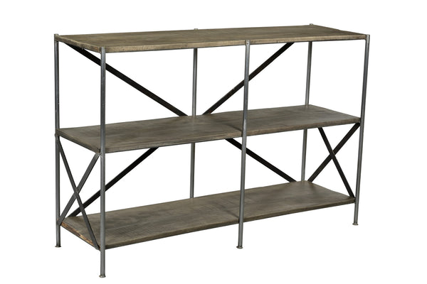 Iron Tiered Console Table