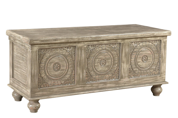 Distressed Storage Bench