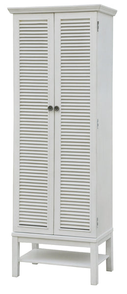 Magnolia Louvered  Storage Cabinet