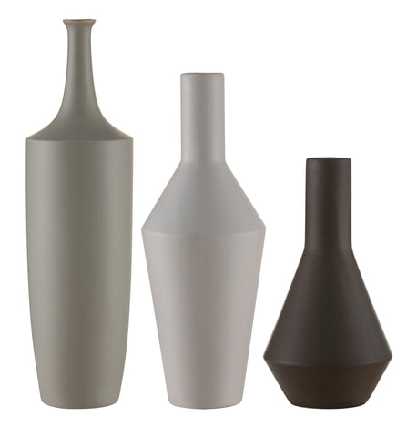 Zen Japanese Inspired Bottles,Set Of 3
