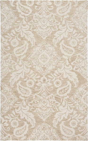 Natal Taupe/Ivory Tufted Area Rug