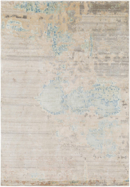 Hand Knotted Ephemeral Area Rug