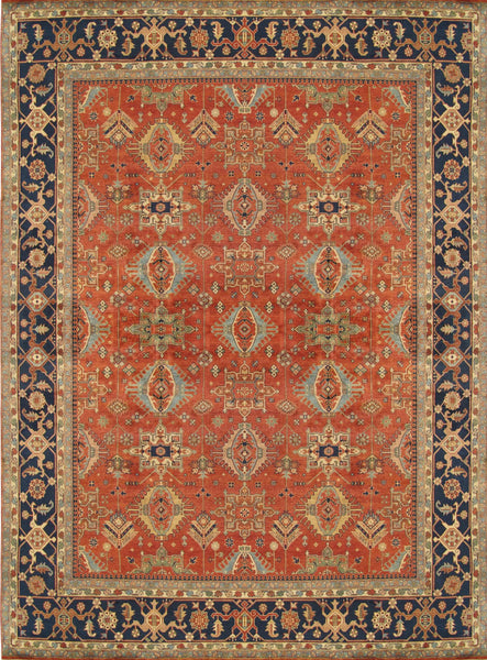 Serapi Hand-Knotted Wool Area Rug