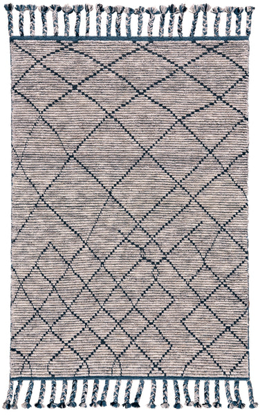 Vail Storm Hand Knotted Area Rug
