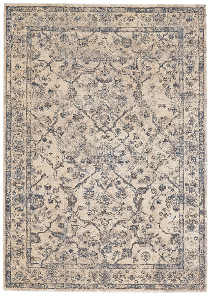 Margaux Gray Machine Made Area Rug