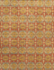 Ikat  Hand-Knotted Lamb's Wool Area Rug