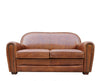 Paris Club Loveseat Genuine Top Grain Leather