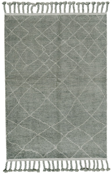 Vail Ash Hand Knotted Area Rug