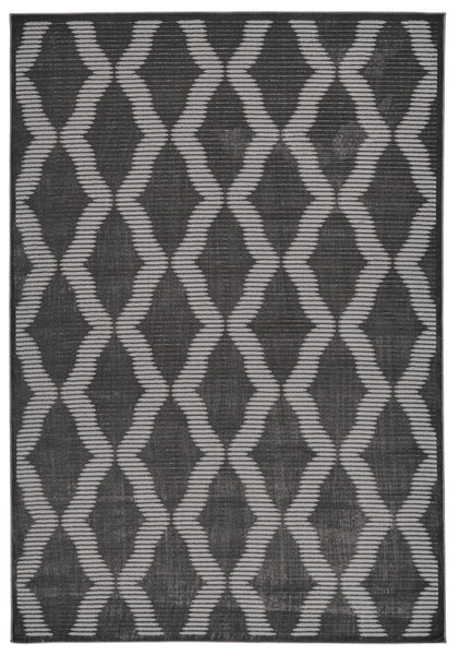 Alexander Charcoal Machine Made Area Rug