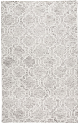 Natal Light Gray Tufted Area Rug