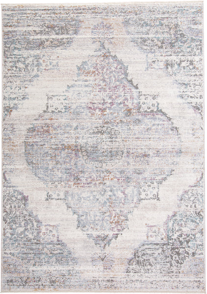 Tirza Cream/Multi Machine Made Area Rug