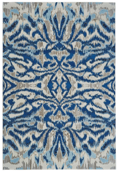 Carini Blue Haze Machine Made Area Rug
