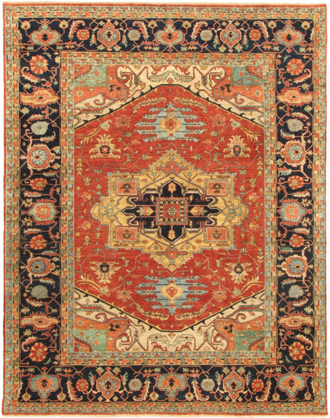 Serapi Ferehan Collection Hand-Knotted Wool Area Rug