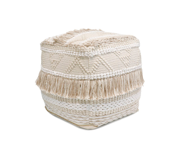 Grand Canyon Tassles Cotton Pouf