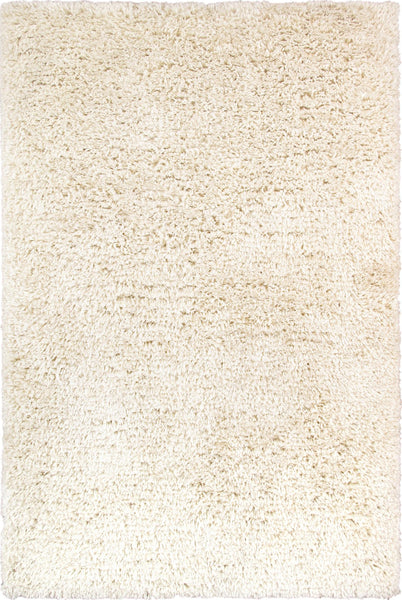 Shaggy  Hand-Woven Poly&cotton Area Rug