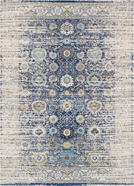 Navy Chelsea Design Area Rug