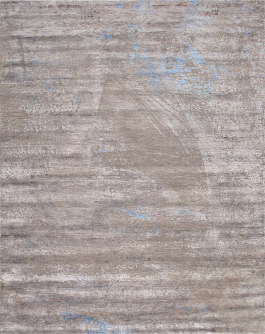 Cosmo Collection Hand-Knotted Silk & Wool Area Rug