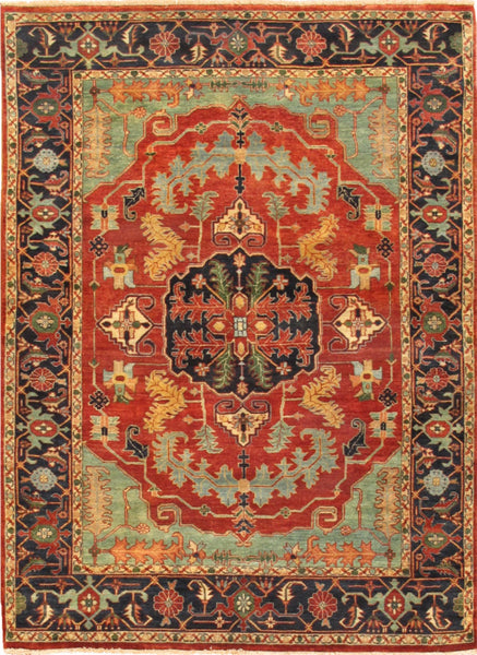 Ferehan Serapi Collection Hand-Knotted Wool Area Rug