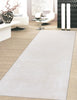 Hand-Tufted Viscose Silk Beige Area Rug