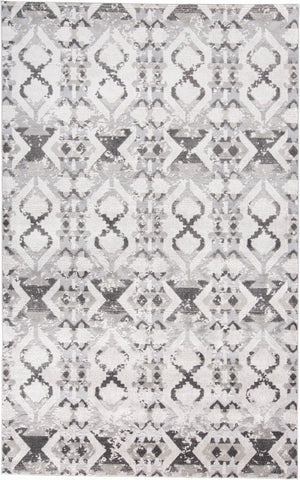 Alexander Gray/Ivory Machine Made Area Rug